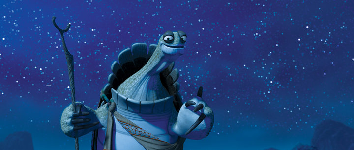 """Quit, don't quit? Noodles, don't noodles? You are too concerned about what was and what will be. There is a saying: yesterday is history, tomorrow is a mystery, but today is a gift. That is why it is called the 'present'."" -Oogway, from Kung Fu Panda"